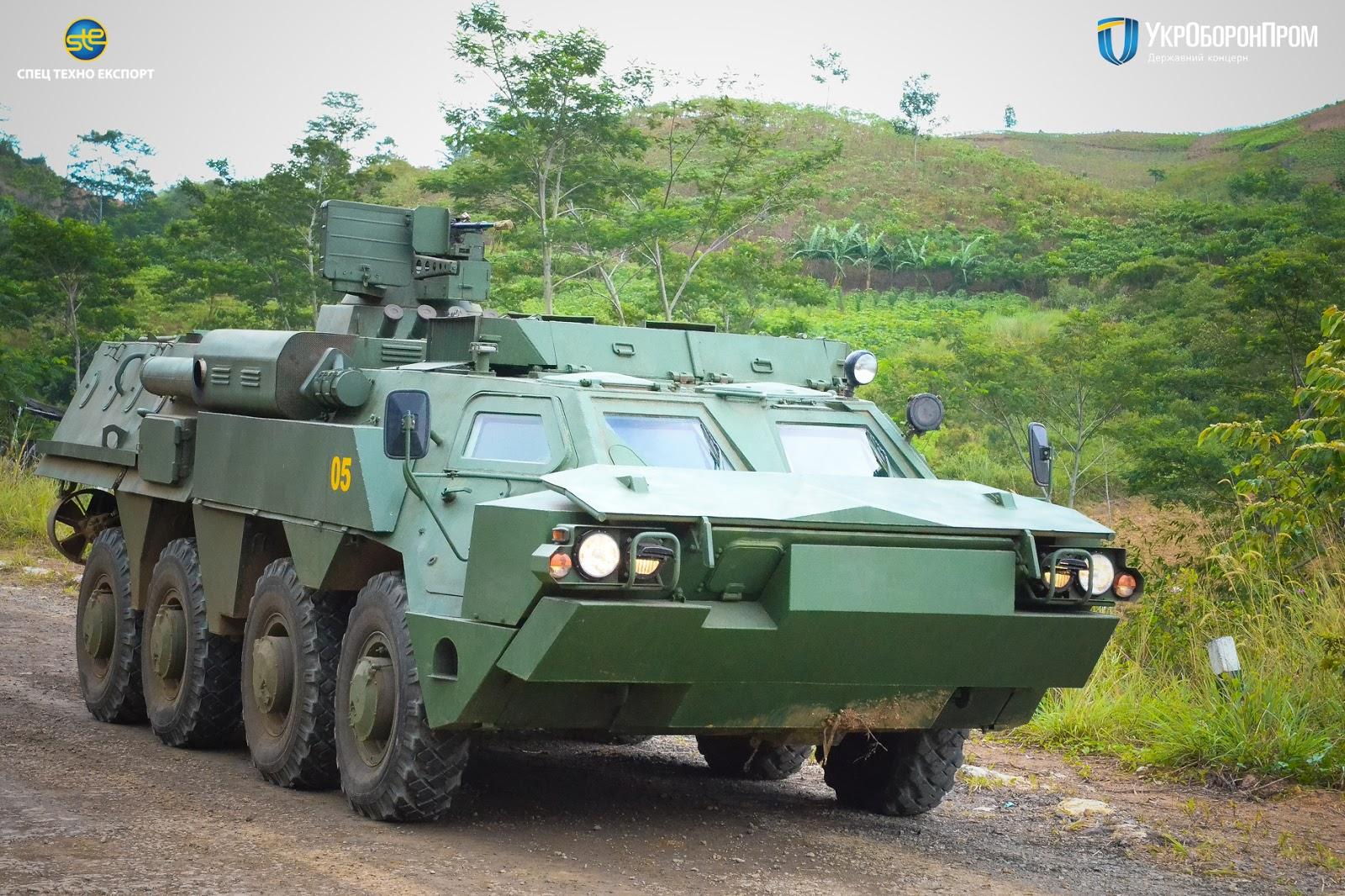 ХКБМ готує передачу морській піхоті першої партії БТР-4
