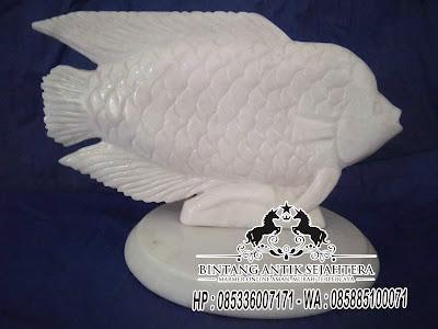 Patung Marmer Tulungagung, Patung Ikan Batu Alam, Patung Ikan Dari Batu