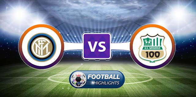 Inter vs Sassuolo – Highlights