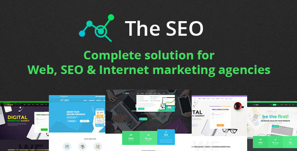 The SEO v2.8.4 - Digital Marketing Agency WordPress Theme - Gama ...