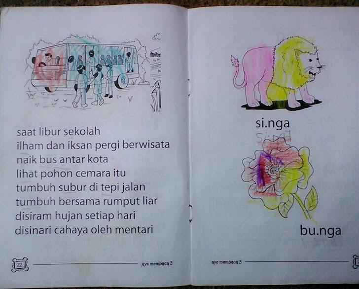 Cara Mudah mengajar anak membaca