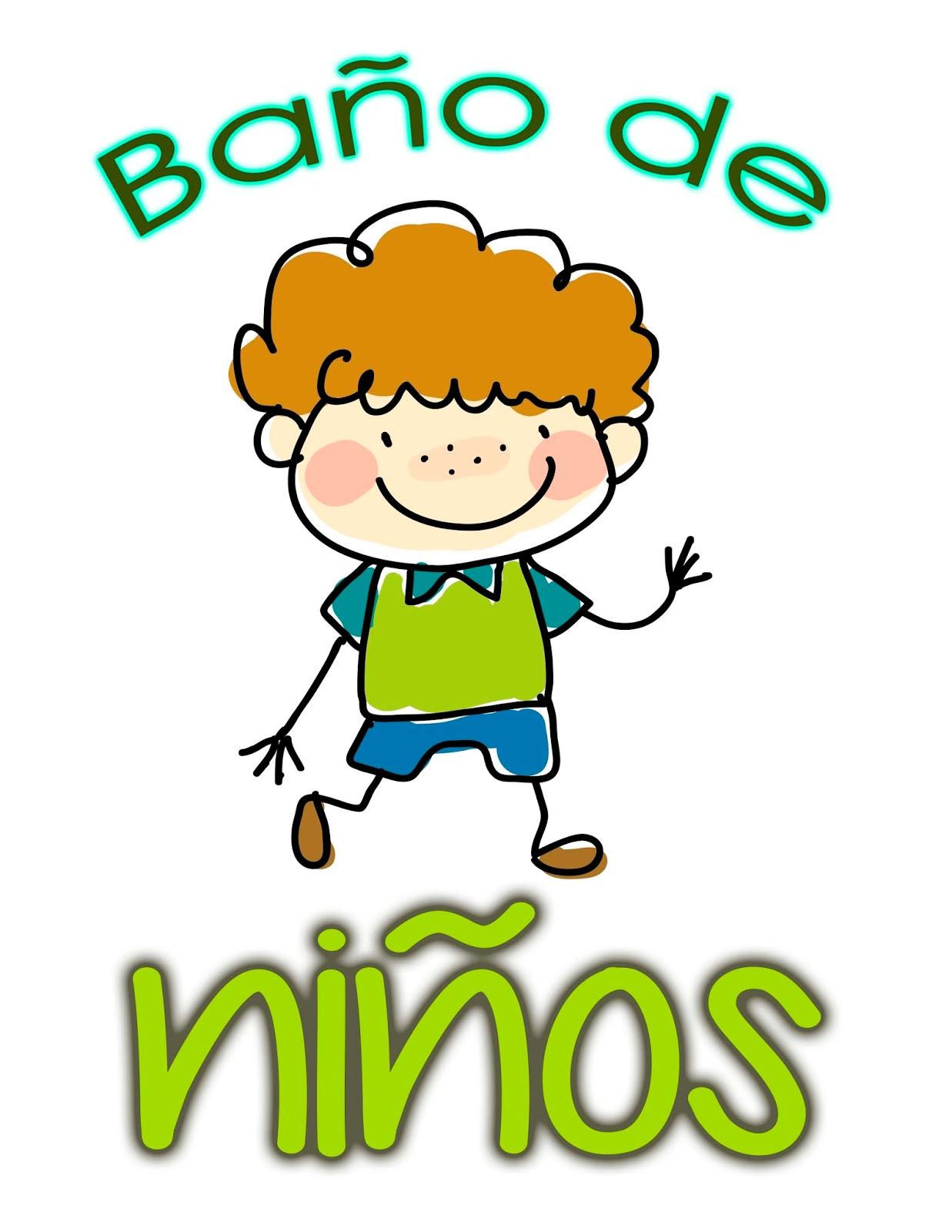 Carteles para el ba o educaci n preescolar la revista for Bano ocupado en ingles
