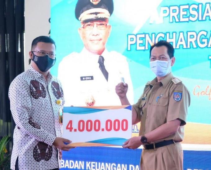 Cimanggis Raih Penghargaan Kecamatan Terbaik Perolehan Pajak Bumi dan Bangunan