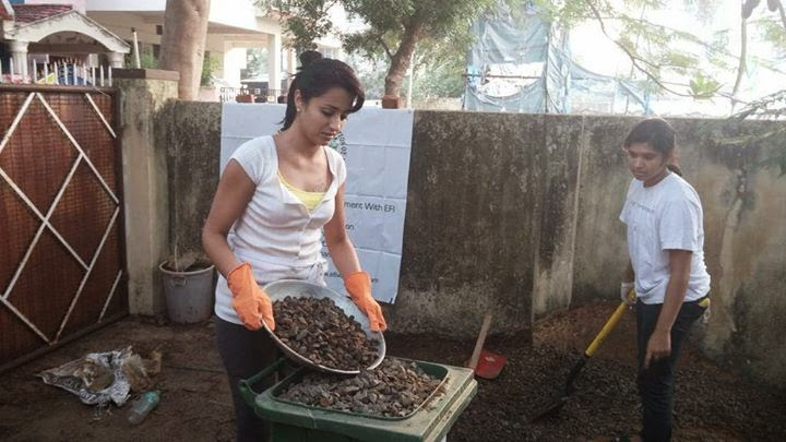 Actress Trisha Krishnan Joins Swachh Bharat Clean India Campaign Event Photos Gallery
