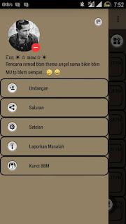 BBM Mod Soft Brown v3.0.1.25 Clone+NotClone Apk Terbaru