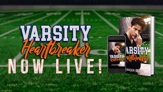{Blog Tour – Excerpt & Review} Varsity Heartbreaker (Varsity #1) by Ginger Scott