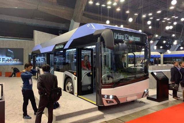 Licitan 100 nuevos autobuses Ereván