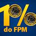 CNM divulga estimativas do adicional de 1% do FPM de julho e dezembro.