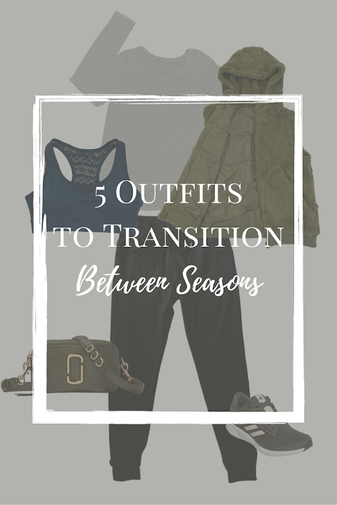 Casual Layered Outfits to wear during the transition from summer to fall and winter to spring