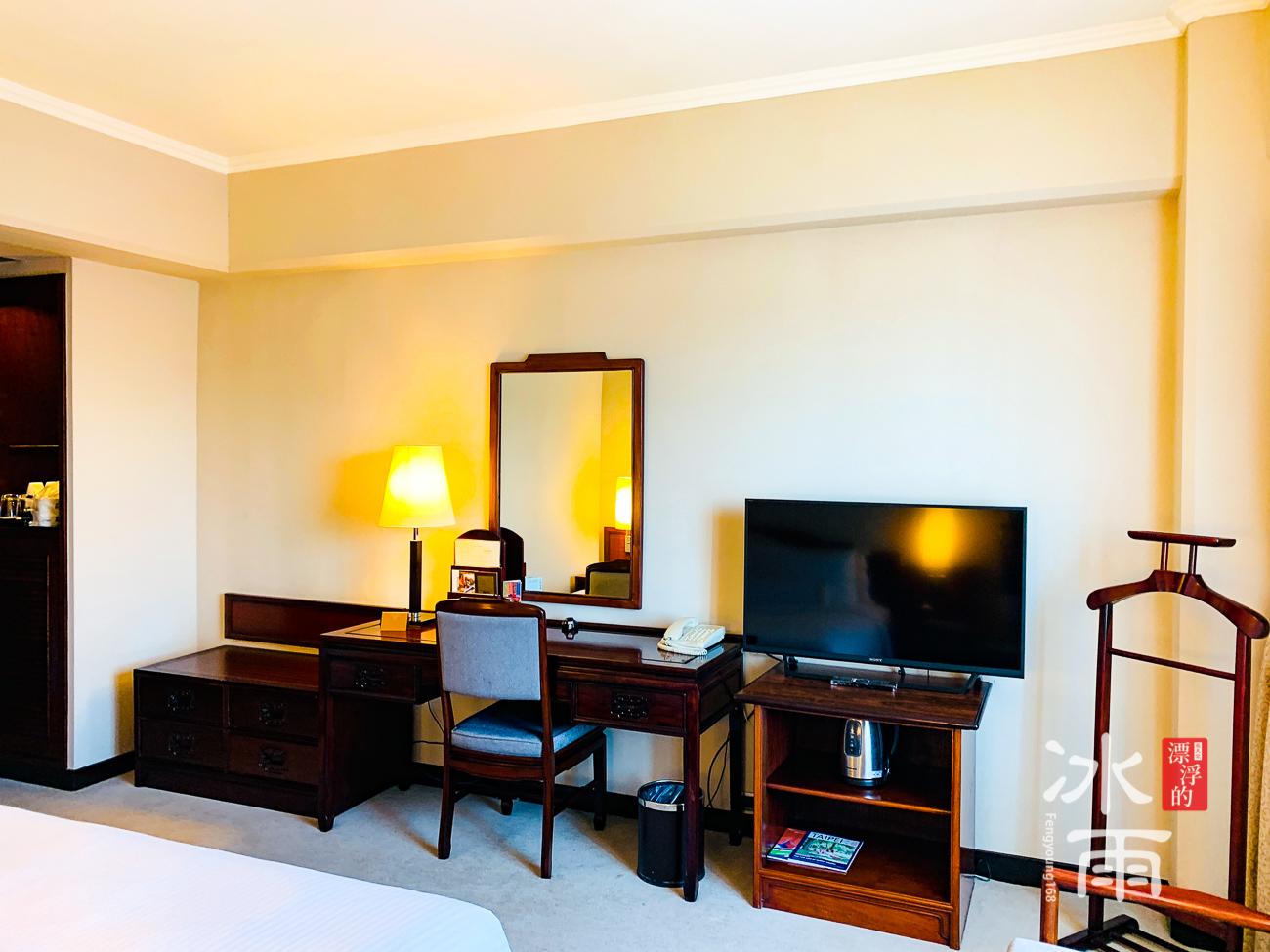 福華大飯店|電視一角