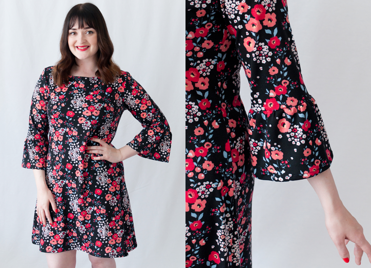 Sew Your Own #1 - Tilly and the Buttons - Coco Dress with Ruffle ...