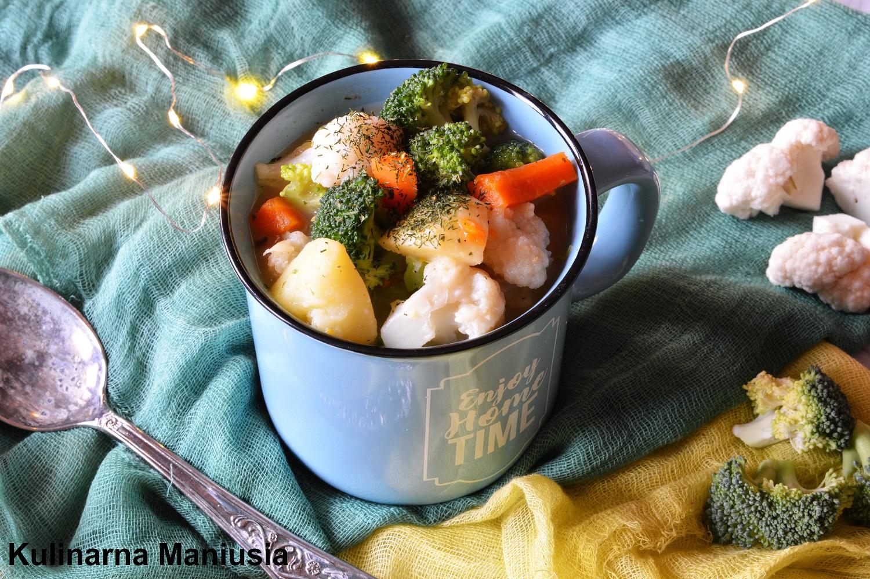 Jesienna Zupa Z Kalafiorek I Brokulem Kulinarna Maniusia Blog