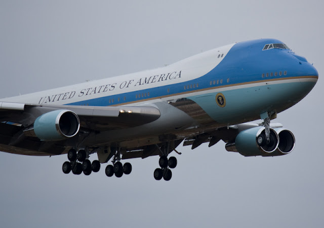 Air Force One, Going Postal