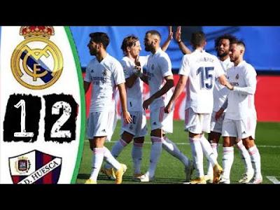 اهداف مباراة ريال مدريد وهويسكا