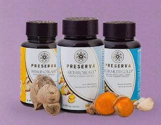 Preserva Wellness | Curcumin Supplement | Curcumin Tea | Turmeric Tea
