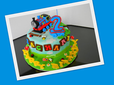 Aimummy Zachary S Thomas Train Cake
