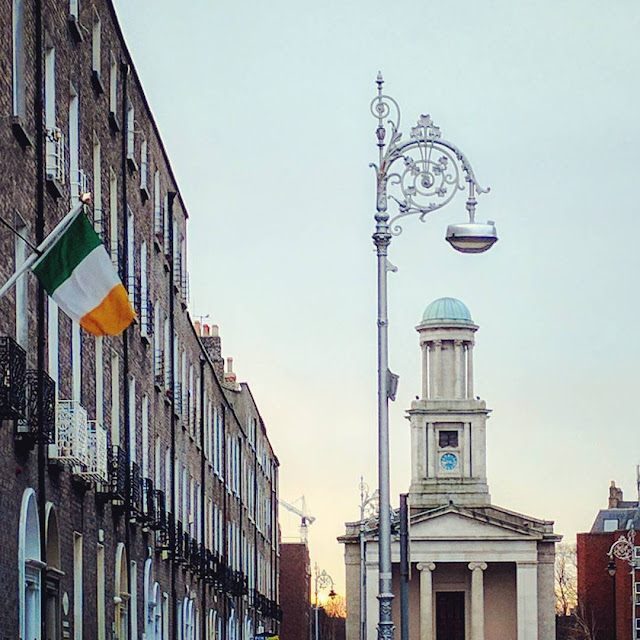 Dublin city walks: The Pepper Canister Church on Mount Street Upper