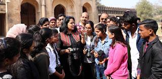 Jaunpur  पूविवि की फोटोग्राफी कार्यशाला शाही किले में हुई सम्पन्न