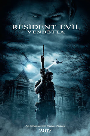 Poster Of Resident Evil: Vendetta In Dual Audio Hindi English 300MB Compressed Small Size Pc Movie Free Download Only At worldfree4u.com