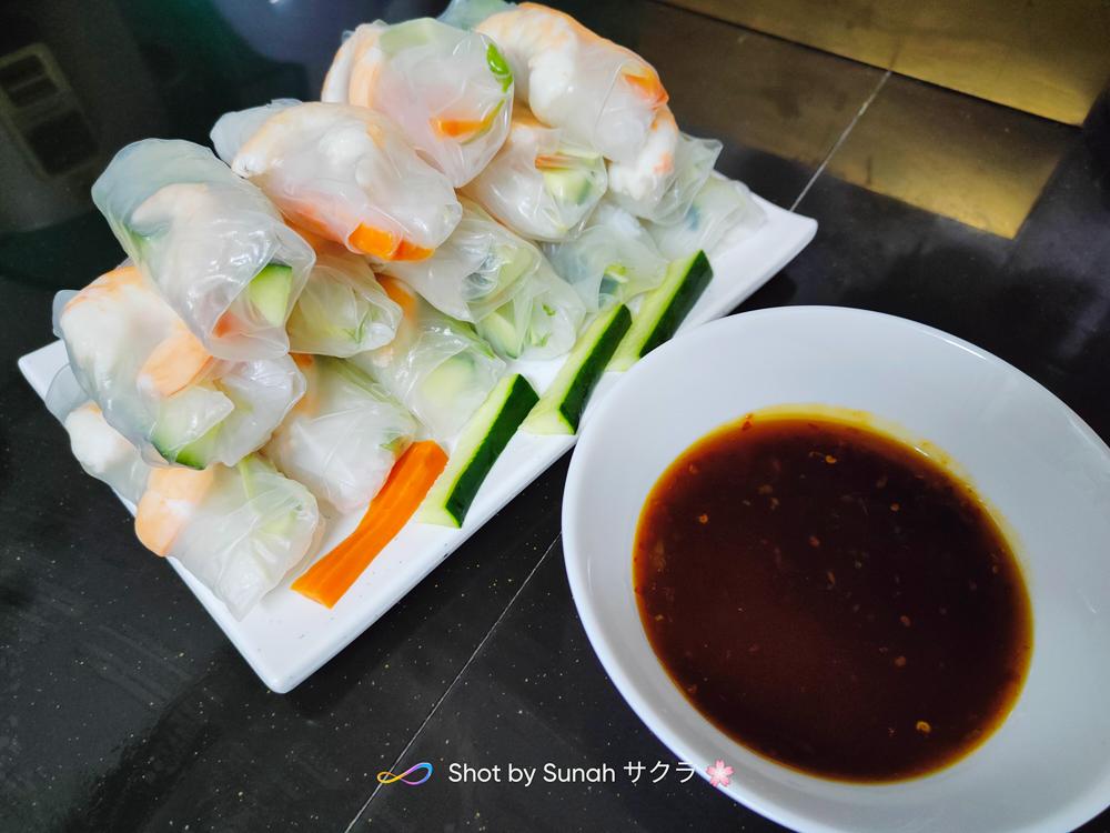 Vietnamese Spring Roll, Pertama Kali Buat Sendiri