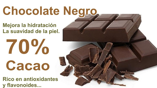Chocolate negro, rico en antioxidantes