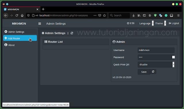 Tutorial Cara Install Mikhmon di Linux