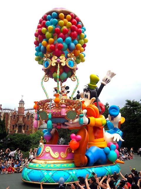 Mickey Mouse float, Tokyo Disneyland, Japan