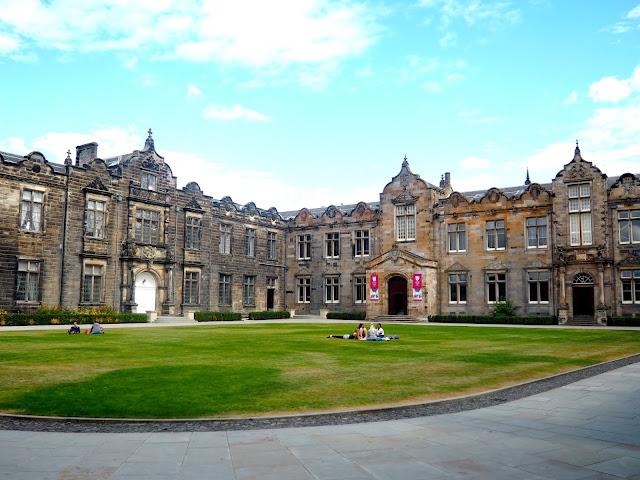St Salvador's Quad, University of St Andrews, Fife, Scotland