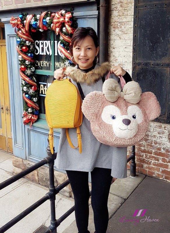 louis vuitton epi leather backpack disneysea shelliemay