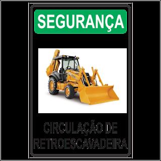 f89bcf40a8ce3 Ponto Visual Catálogo Virtual  Placa de Sinalização Segurança ...