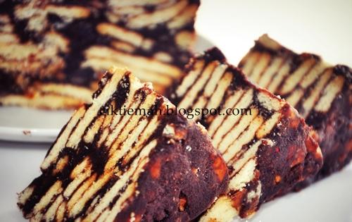 resepi kek batik marie oreo surasmi Resepi Kek Milo Cheese Enak dan Mudah