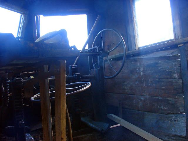 Внутри паровозика