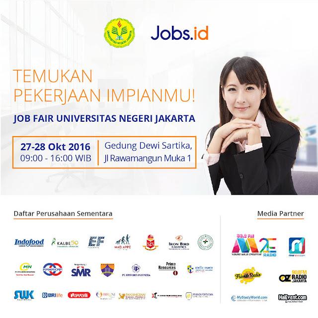 Job fair Universitas Negeri Jakarta [UNJ] di Rawamangun