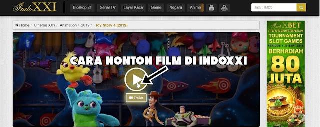 Cara Nonton Film di Indoxxi