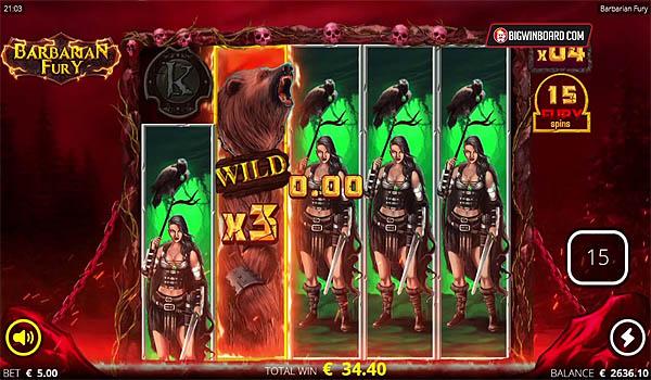 Main Gratis Slot Indonesia - Barbarian Fury (Nolimit City)