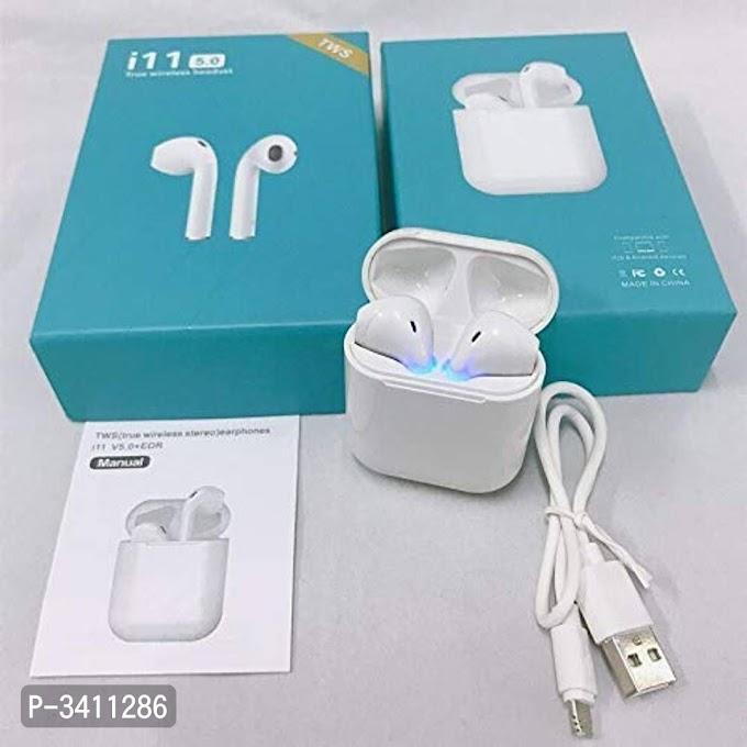 i11 TWS Sound Wireless Bluetooth Earphone Earbud Portable