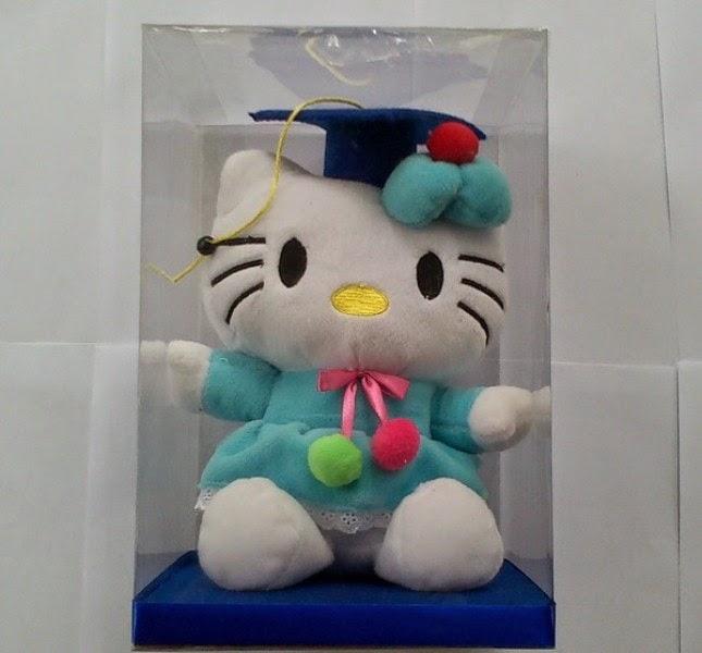 Gambar lucu boneka hello kitty wisuda download gratis