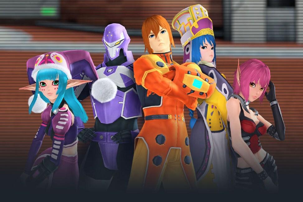 Phantasy Star Online 2 - NA collab