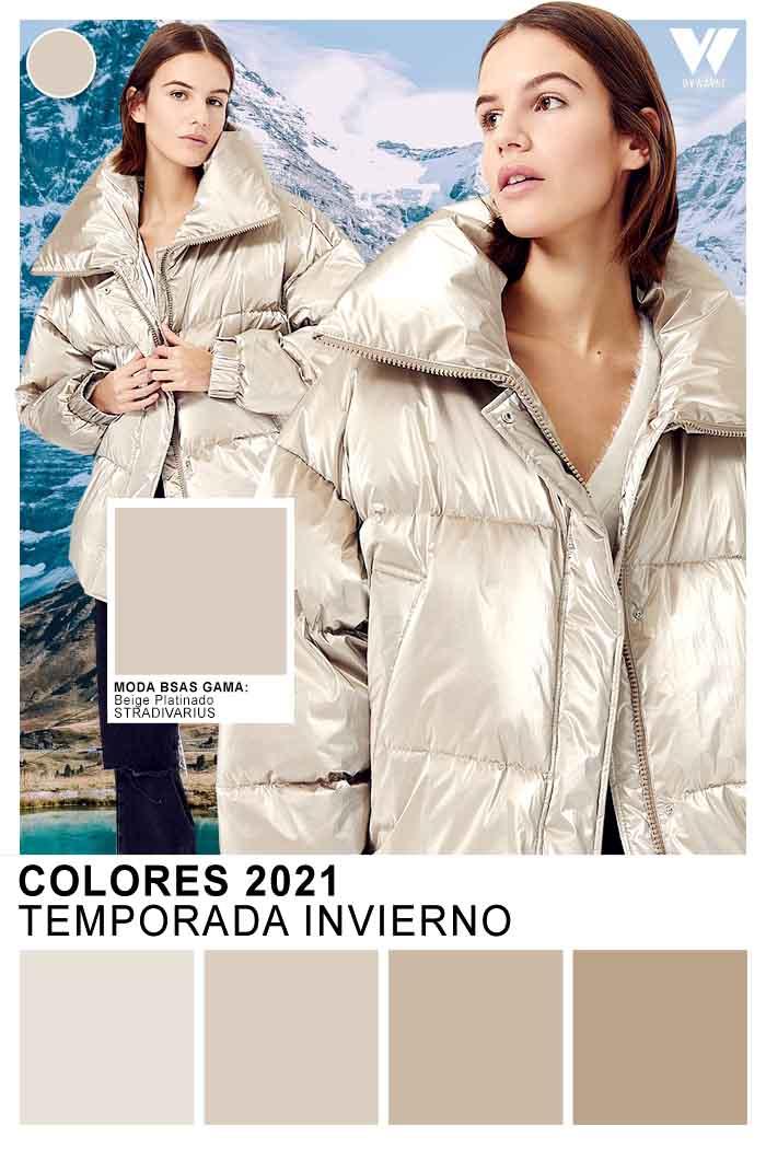 plateados moda colores otoño invierno 2021