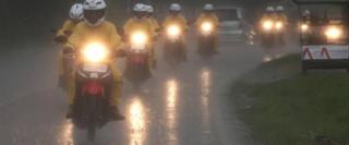 Beberapa Tip Berkendara Saat Hujan