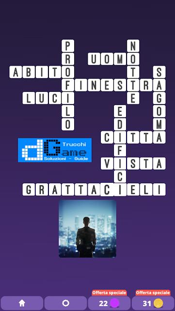Soluzioni One Clue Crossword livello 11 schemi intermedia (Cruciverba illustrato)  | Parole e foto