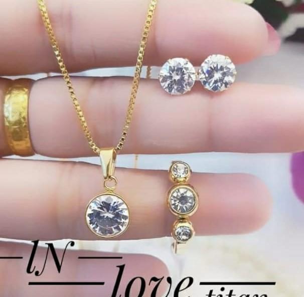 Perhiasan Titanium Paket 220014 - ES~SHOP