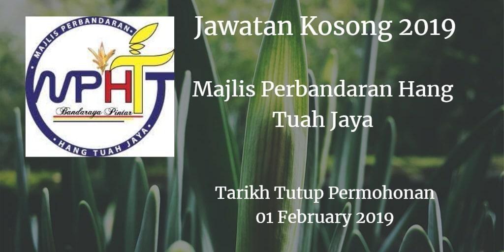 Jawatan Kosong MPHTJ 06 February 2019