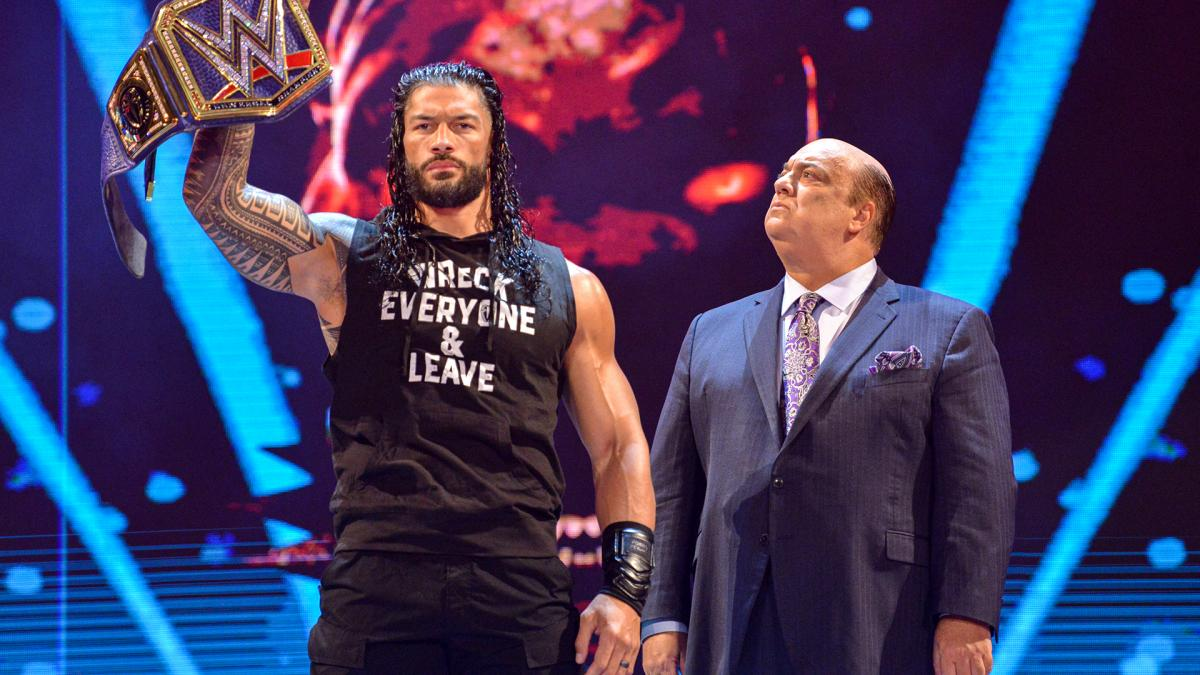 Roman Reigns and Paul Heyman on WWE SmackDown