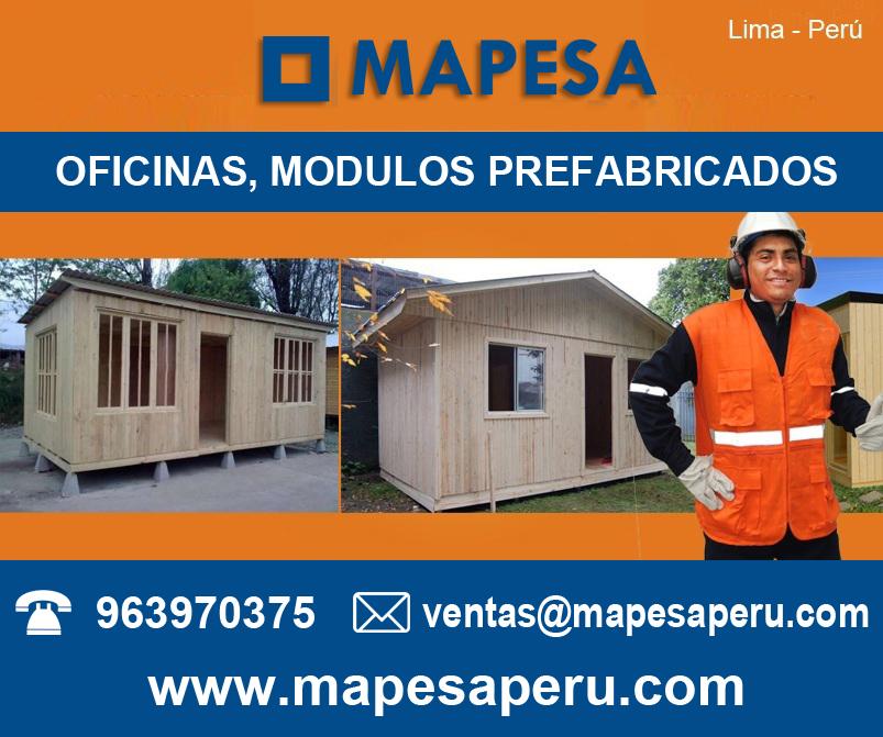 Casetas m dulos prefabricados de madera para oficina - Feria de casas prefabricadas ...