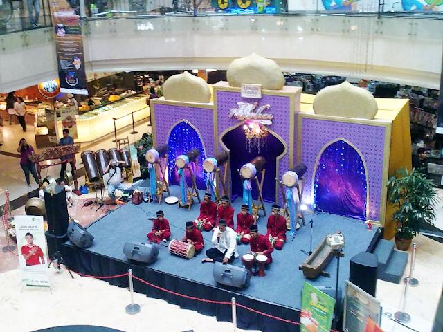 Dekorasi Ramadhan di Mall