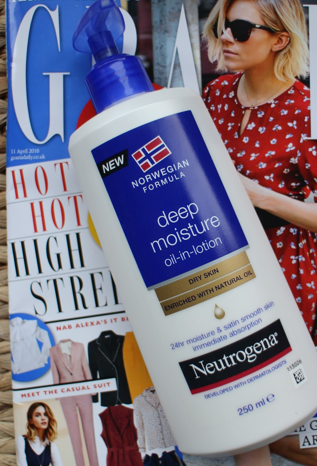 Neutrogena Deep Moisture Oil in Lotion