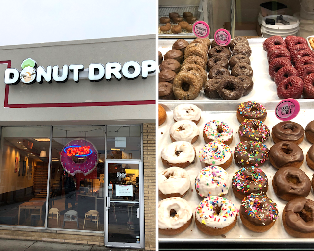Fresh Baked Donuts With Intriguing Flavors at Donut Drop in Schaumburg, Illinois