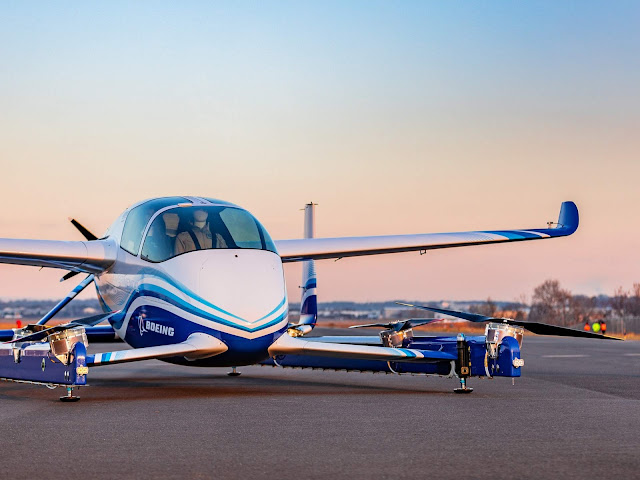 Boeing - carro voador