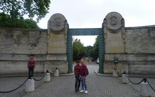 Cementerio del Père-Lachaise de París.